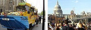 Limos for Hire - St Pauls Cathedral & The Duck Tour Amphibious Vehicle